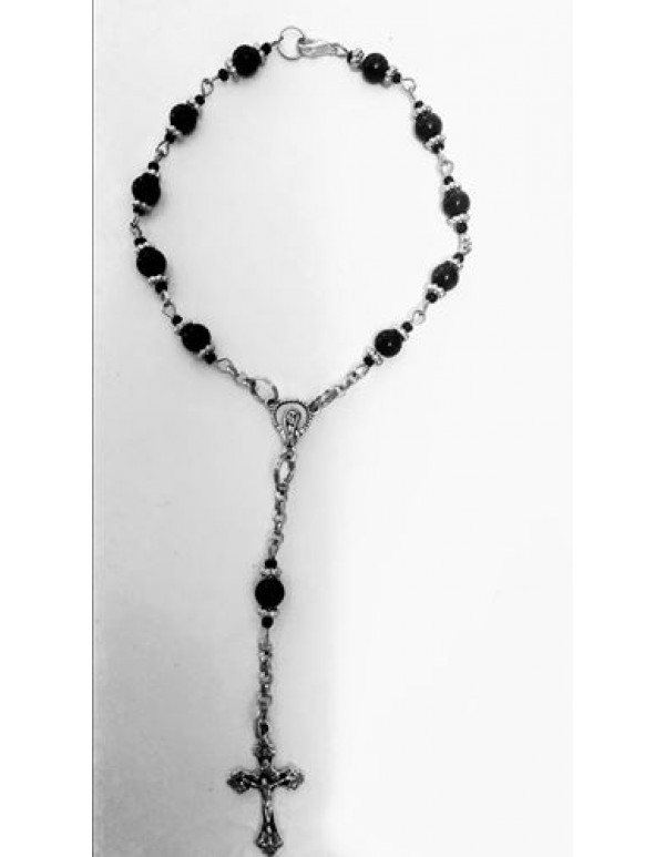 Car - Automobile - 1 Decade black Rosary