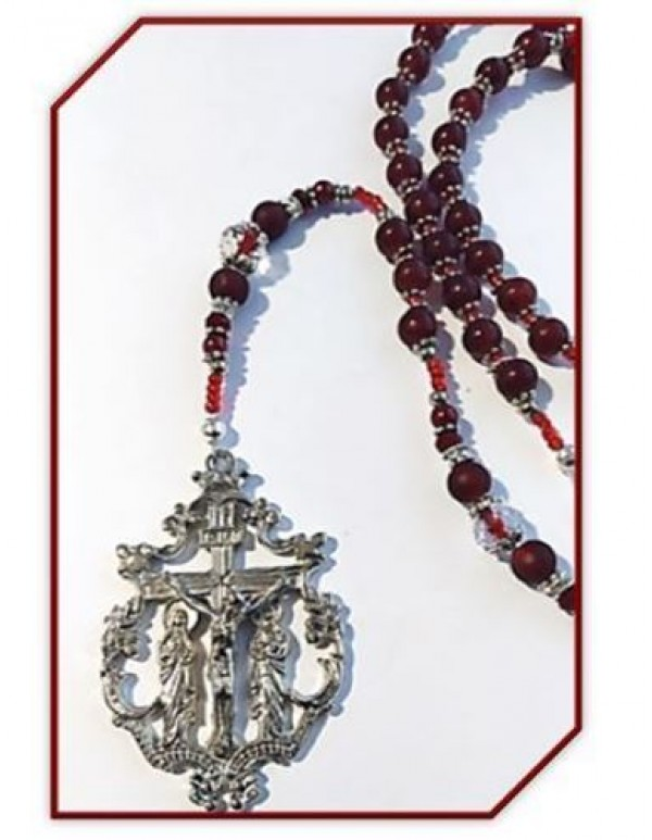 Birthstone Rosary - Garnet / January
