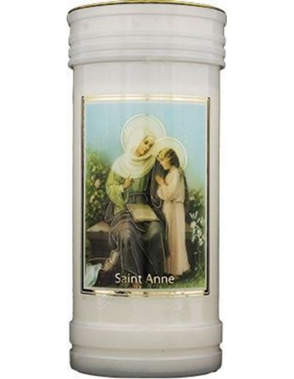 72 hour burning - St Anne Candle